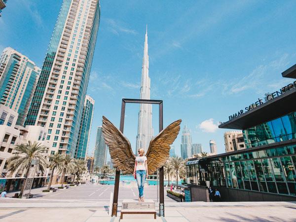 Dubai Flügel Wings of Mexico
