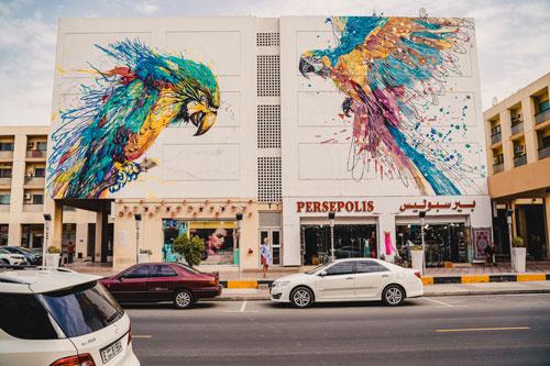 Dubai Streetart Graffiti