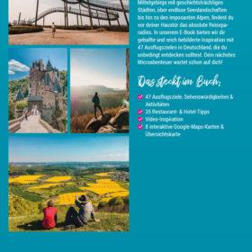 Deutschland – 47 Ausflugsziele, die du entdeckt haben solltest   Inspirations-Paket Premium (Taschenbuch + E-Book)